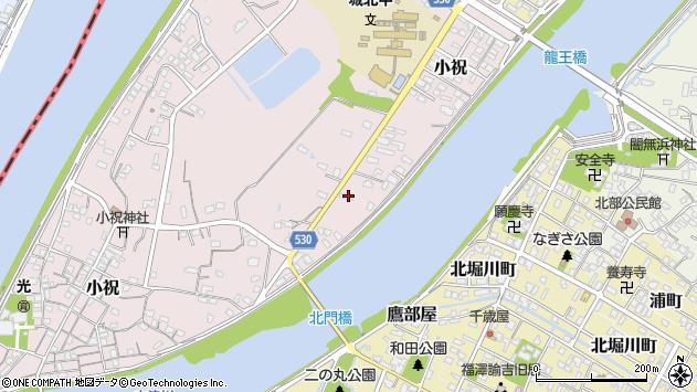 大分県中津市小祝409周辺の地図