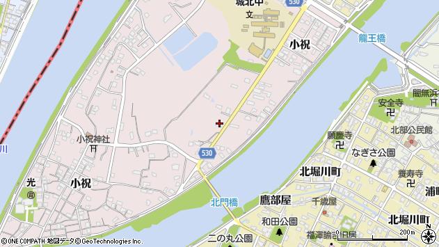 大分県中津市小祝427周辺の地図