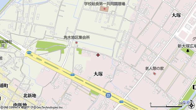 大分県中津市大塚634周辺の地図