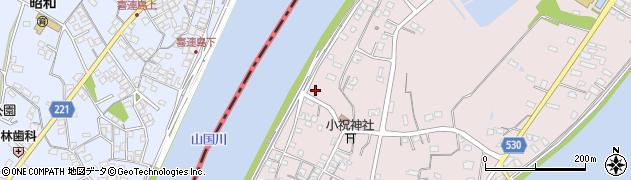 大分県中津市小祝517周辺の地図