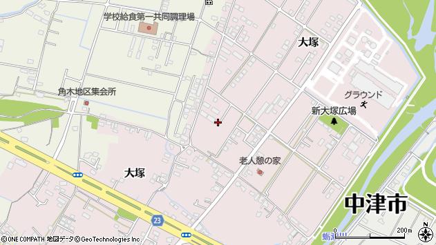 大分県中津市大塚792周辺の地図