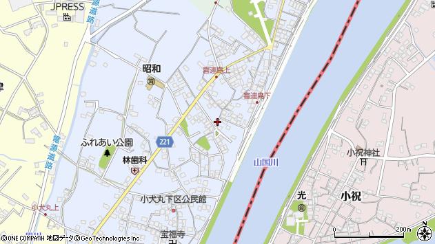 福岡県築上郡吉富町小犬丸 地図(住所一覧から検索) :マピオン