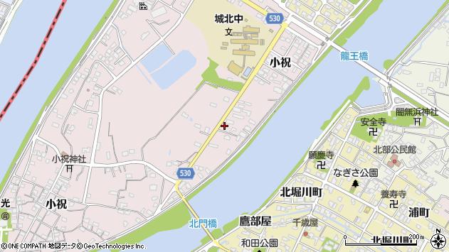 大分県中津市小祝403周辺の地図