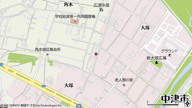 大分県中津市大塚891周辺の地図