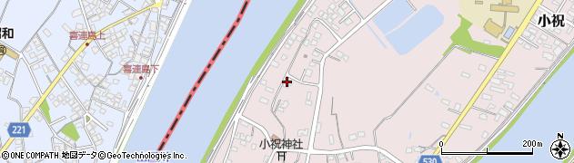 大分県中津市小祝618周辺の地図