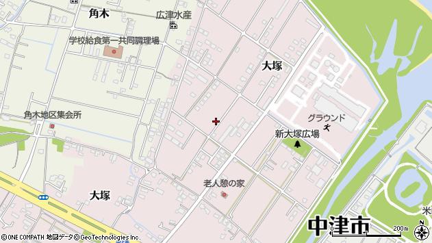 大分県中津市大塚797周辺の地図