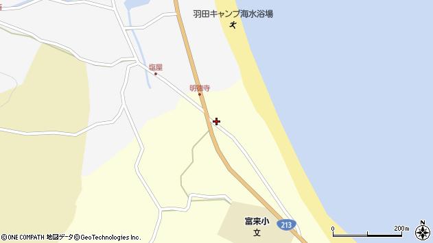 大分県国東市国東町富来浦723周辺の地図