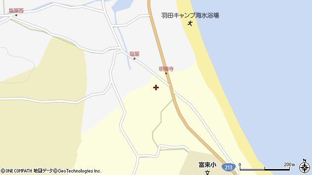 大分県国東市国東町富来浦711周辺の地図