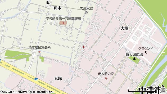 大分県中津市大塚890周辺の地図