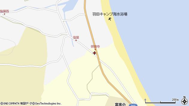 大分県国東市国東町富来浦720周辺の地図