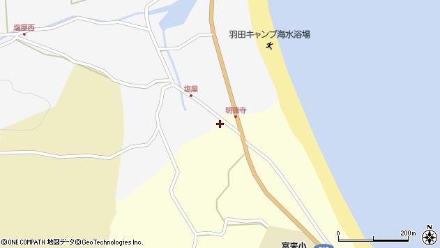 大分県国東市国東町富来浦717周辺の地図
