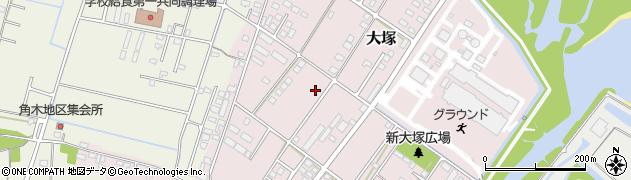 大分県中津市大塚798-1周辺の地図