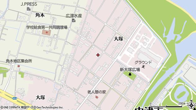 大分県中津市大塚798周辺の地図