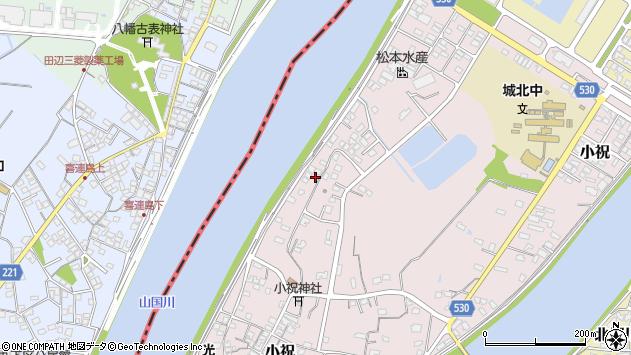 大分県中津市小祝524周辺の地図