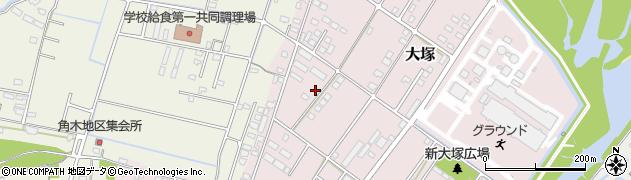大分県中津市大塚834周辺の地図