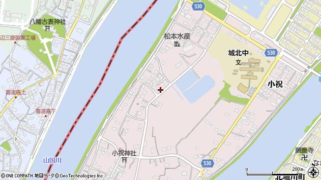 大分県中津市小祝550周辺の地図