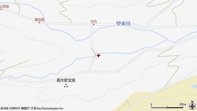 大分県国東市国東町東堅来3119周辺の地図