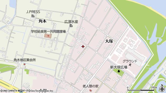 大分県中津市大塚833周辺の地図