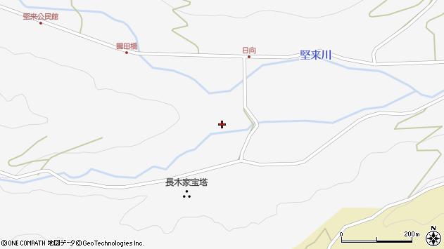 大分県国東市国東町東堅来2484周辺の地図