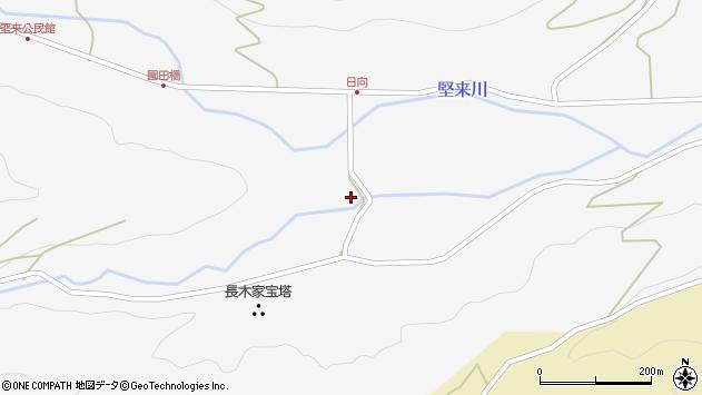大分県国東市国東町東堅来2493周辺の地図
