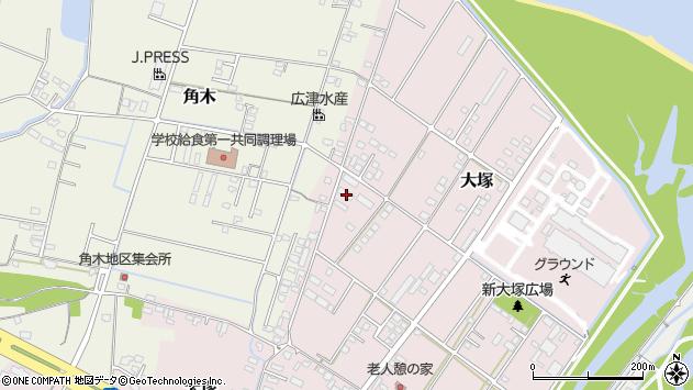 大分県中津市大塚838周辺の地図