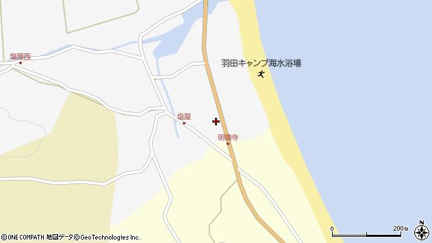 大分県国東市国東町東堅来29周辺の地図