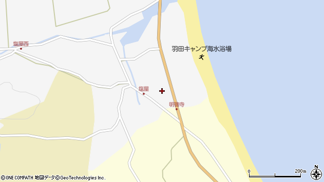 大分県国東市国東町東堅来31周辺の地図