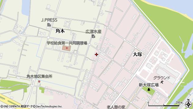 大分県中津市大塚880周辺の地図