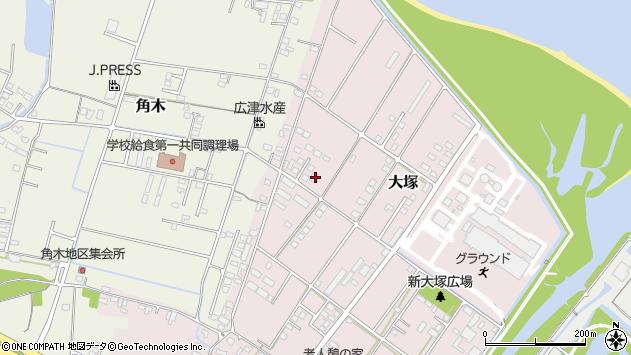 大分県中津市大塚832周辺の地図