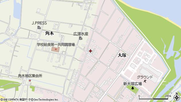 大分県中津市大塚840周辺の地図