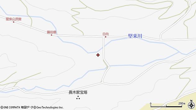 大分県国東市国東町東堅来2473周辺の地図