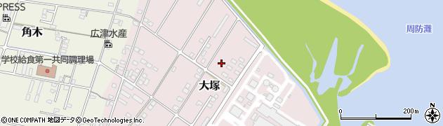 大分県中津市大塚751周辺の地図