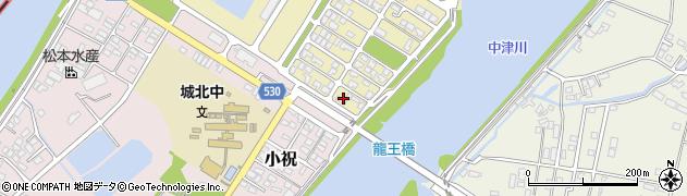 大分県中津市小祝新町96周辺の地図