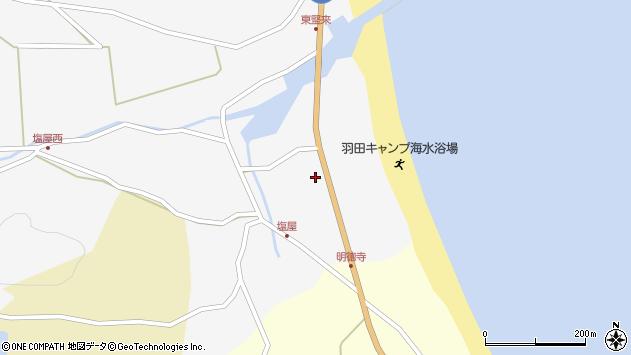 大分県国東市国東町東堅来58周辺の地図