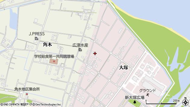 大分県中津市大塚841周辺の地図