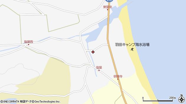 大分県国東市国東町東堅来44周辺の地図