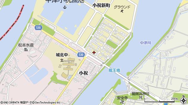 大分県中津市小祝新町3周辺の地図