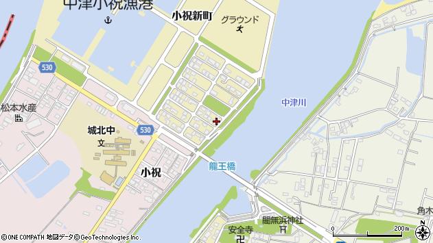大分県中津市小祝新町83周辺の地図