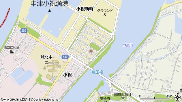 大分県中津市小祝新町82周辺の地図