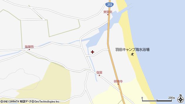 大分県国東市国東町東堅来107周辺の地図