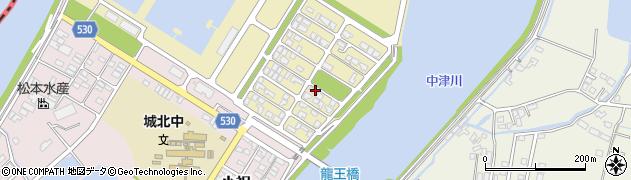 大分県中津市小祝新町80周辺の地図