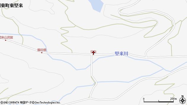 大分県国東市国東町東堅来796周辺の地図