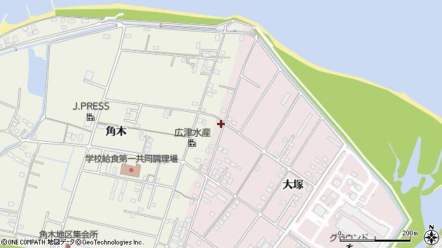 大分県中津市大塚867周辺の地図