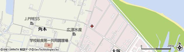 大分県中津市大塚844周辺の地図