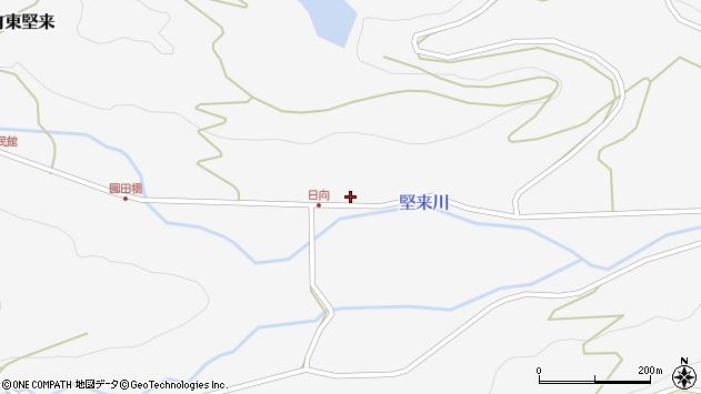 大分県国東市国東町東堅来692周辺の地図