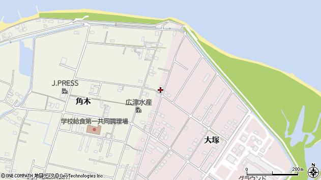 大分県中津市大塚685周辺の地図