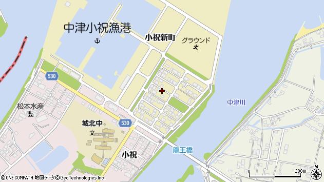 大分県中津市小祝新町31周辺の地図