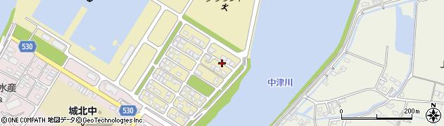 大分県中津市小祝新町66周辺の地図