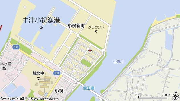 大分県中津市小祝新町68周辺の地図