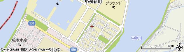 大分県中津市小祝新町37周辺の地図